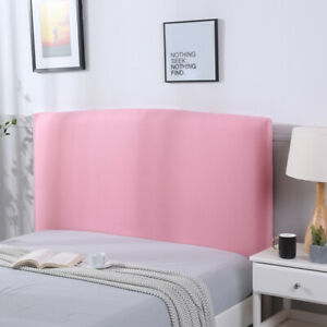 Bed Headboard Cover Stretch Printed Headboard Slipcover Dustproof for Bedroom