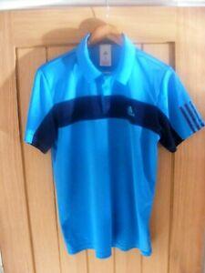 adidas tennis polo shirt,size medium,gym training,sportswear