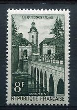 FRANCE, 1957, timbre 1105, LE QUESNOY, REMPARTS, neuf**