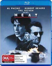 *Brand New & Sealed* HEAT (Blu-ray, 2009) Pacino/De Niro - Region B Australia
