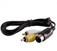 brand new av audio video cable for SEGA GENESIS 1 rca cable