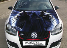 Death Car Bonnet Wrap Decal Full Color Graphics Vinyl Sticker Fit any Car Hood