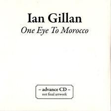 IAN GILLAN one eye to morocco CD 2009 PROMO different artwork DEEP PURPLE