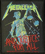 "METALLICA PATCH / AUFNÄHER # 41 ""AND JUSTICE FOR ALL"" - 10x9cm"