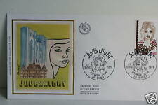 ENVELOPPE PREMIER JOUR SOIE - JUVEX NIORT 1978
