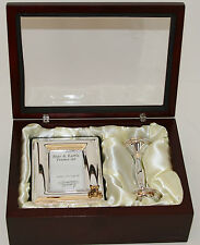 Baby Rattle and Picture Frame Set