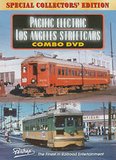 Pacific Electric Los Angeles Streetcars Combo DVD Pentrex PE Red Cars Interurban