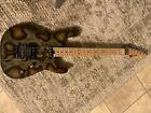 Charvel Warren DeMartini Snakeskin Guitar Perfect Condition