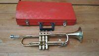 Old trumpet AMBASSADOR Olds&Son Los Angeles California.