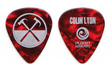 Roger Waters The Wall Colin Lyon Red Pearl Guitar Pick - 2012 Tour Pink Floyd