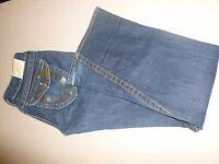 TRUE RELIGION JOEY Flare Stretch Jeans Womens 28 x 34