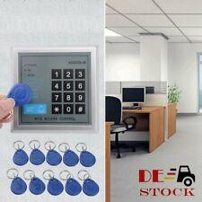 Sicherheit RFID Codeschloss Zugangssystem Zutrittskontrolle Türöffner 10x Clips
