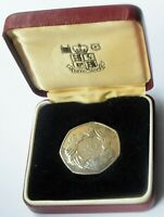 1973 PROOF EEC 50p FIFTY PENCE COIN IN ORIGINAL ROYAL MINT BOX