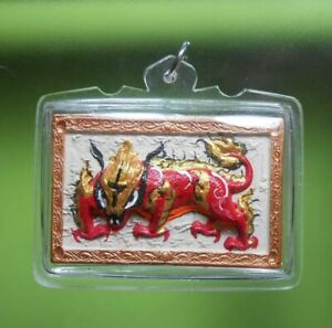 GORGEOUS! LP KEY HOT OLD THAI AMULET WEALTH AND RICH VERY RARE !!!