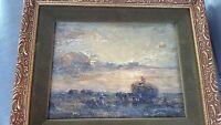 Herbert F Royle  (1870 - 1958) oil on canvas over board. Nice piece!