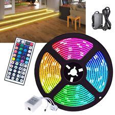 RGB LED Streifen Innen Außen Lichterkette RGB Stripe Stripe Licht-Leiste 5m