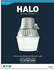 Halo Outdoor Security Dusk to Dawn Fluorescent  Safety & Security Light - 65W
