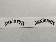 JACK DANIELS-CLEAR GLOSS FOR LAPTOPS RECTANGLE STICKERS(2-PCS 100mm x 35mm)