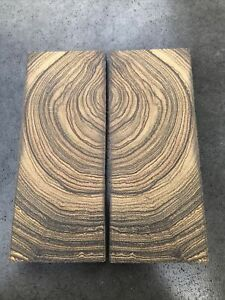 Crosscut Wenge wood Knife Scales,Handle blank Exotic Wood Pistol grip