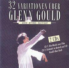 GLENN GOULD : 32 VARIATIONEN ÜBER GLENN GOULD / 2 CD-SET - TOP-ZUSTAND