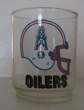 VINTAGE HOUSTON OILERS 16 OUNCE BAR GLASS NFL LOGO VERY SWEET LOOK!