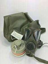 Gasmaske M65 Z Gasmaskentasche Gasmaskenfilter Filter ex Bundeswehr