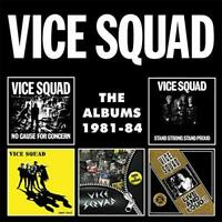 Vice Squad - The Albums 1981-84 (NEW 5CD)