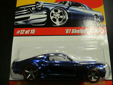 New ListingHot Wheels Modern Classics ' 67 Shelby Gt-500 12 Of 15 1:64 Red Line (Blue)