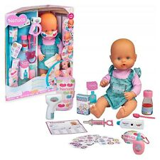 bambola bambolotto Nenuco sei malata? interattiva per bambina giocattolo