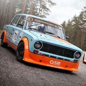 Rally Rallycross Bodykit Front Rear Spoilers Fenders (Fits VAZ LADA 2101 VFTS)