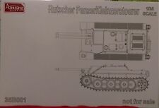 Amusing 1/35 German WWII Project Vehicle E-5 Rutscher PanzerKleinzerstoerer