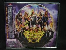 BURNING WITCHES ST + 1 JAPAN CD Destruction Atlas Rizon Axis Swiss Female HM !