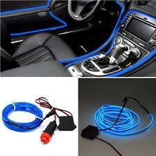 200CM Blue LED Car Interior Decor Atmosphere Wire Strip Light Lamp Accessories