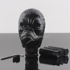 Car Truck Shift Shifter Lever Knob Carved Gorilla Head Manual Gear Stick Black
