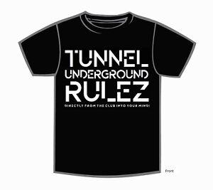 "Tunnel Shirt ""UNDERGROUND RULEZ"" Boys • Größe XXXL"