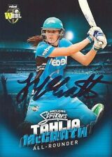 ✺Signed✺ 2017 2018 ADELAIDE STRIKERS Cricket Card TAHLIA MCGRATH Big Bash League