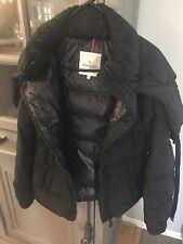 EUC Authentic Moncler Womens Coat - Size 0 - Hooded- Black