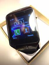Bluetooth Smart Watch Phone Android IOS Black camera speaker SD Sim USA Seller