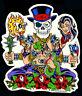 Alan Forbes Sticker Decal Hot Rod Kustom Kulture tattoo lucky Poster Pop