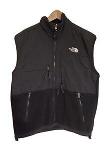 The North Face Polartec Fleece Vest Jacket Mens Black Size M