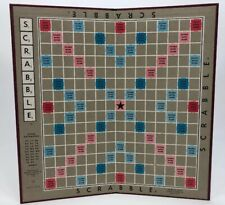 Scrabble Game Board From 1948 Replacement Part Fair Condition Fast Shipping