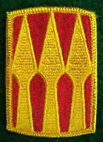 U.S. VIETNAM ORIGINAL 1968 3RD SUPPORT BRIGADE MILITARY SLEEVE PATCH NOS #11
