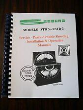 Seeburg Model STD3 ESTD3 Jukebox Manual