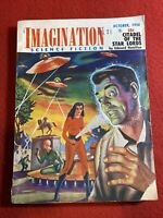 1956 October IMAGINATION SCIENCE FICTION Magazine Edmund Hamilton Dick Purcell
