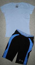 Mädchen Sport-Caprihose RODEO,T-Shirt NIKE,  Gr-158