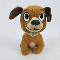 "Disney Jr Doc McStuffins Findo 6"" Plush Puppy Dog Brown Stuffed Animal Toy"