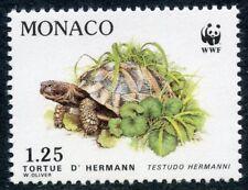 STAMP / TIMBRE DE MONACO N° 1808 ** FAUNE / LA TORTUE D'HERMANN
