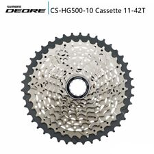 Shimano Deore CSM6000 11-42T CS-HG500-10 Cassette 10-speed NEW