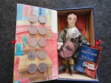 EARLY AMERICAN DOLL & 10 STATE QUARTERS, NEW HAMPSHIRE & D. WEBSTER  OTT-03164