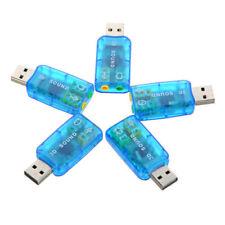 Externe USB 1.0/1.1 Soundkarten 5.1 Kanälen